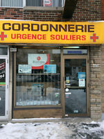 LOCAL DE CORDONNERIE A LOUER