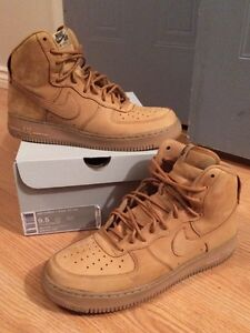 """Air Force 1 High """"Flax"""" Size 9.5 OBO"""