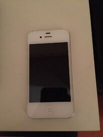 Iphone 4s white 16gb Unlocked