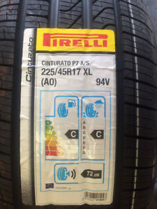 SALE brand new Pirelli P7 A/S 225/45R17XL(AO) 94V Installed