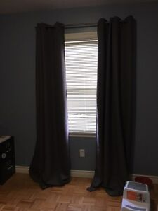 Black out curtains $15