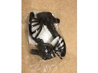 Ballroom dance shoes, brand new, size 5-5.5 (eu38)