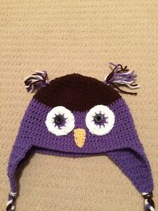 Knitted Owl hat London Ontario image 2