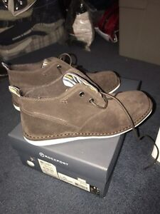 BRAND NEW MENS ROCKPORT BROWN SUEDE SHOES West Island Greater Montréal image 1