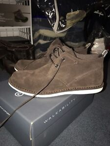 BRAND NEW MENS ROCKPORT BROWN SUEDE SHOES West Island Greater Montréal image 3