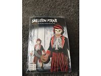 Children's Skeleton Pirate Costume