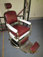 barber chair for motorcycle