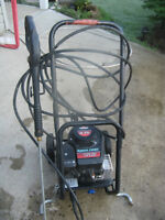 GAS PRESSURE WASHER/AS NEW