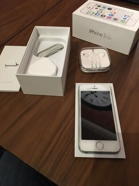 IPhone 5s 32gb brand new condition warranty may 2017in Ripley, DerbyshireGumtree - Iphone 5s 32gb silver and white for sale.Warranty till may 2017 Brought brand new sealed box Ive been using it on Tesco mobile Had a screen protectors on from new and a really good case not one mark on the phoneWill reset to factory settings when...