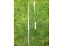 Two Weightlifting Bars both in very good condition.