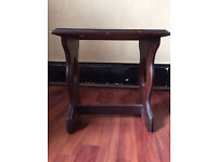 House clearance sale/cheap, small table/wooden stool