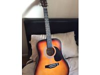 Falcon Acoustic Guitar + Tuner + Strings