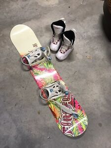 Girls Snowboard Package