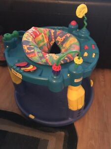 Baby Evenflo exersaucer. AVAILABLE