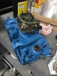 Mopar Small block intake and carb
