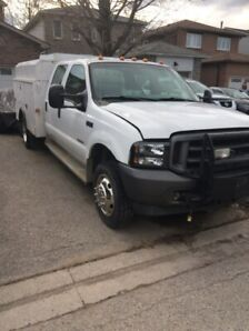 Ford f450 f350  4x4 crew cab dually 2004 6l turbo