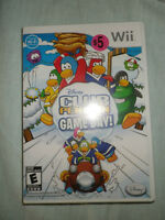 wii game. club penguin