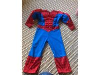 Spider-Man costume 3-4yrs