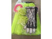 80s night fancy dress bundle