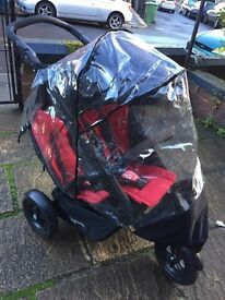 Phil & Teds stroller tandem double pushchair
