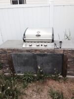 Home build outdoor BBQ