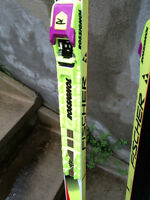 Cross Country skis and boots/SKIS DE FOND