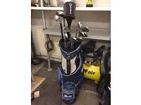 Full set of John Letters Golf Club's, TaylorMade R360 Driver & Mizuno Bag