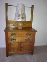 Antique wash stand and dresser