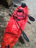 kayak 2 places 1/2