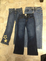Girls Jeans size 7=8 3 pair
