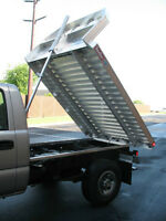 Aluminum Dumping Decks for Pickups