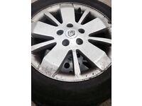 Renault Laguna alloy wheels & tyres