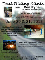 Parelli Trail Riding Clinic with Ron Pyne