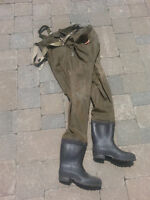 Red Ball chest waders