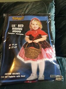 Lil Red Riding Hood Costume