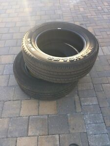4 tires for sale 100$