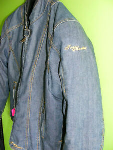 Ladies - Denim Riding Jacket - Tourmaster - Large at RE-GEAR Kingston Kingston Area image 3