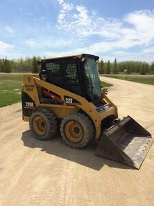 CAT skid steer Winnipeg Manitoba image 2