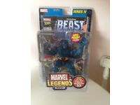 Marvel Legends Beast Figure Series 4 New In Box Very rare Immaculate cond 32 page comic book also