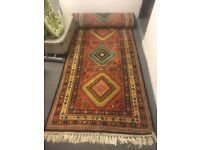 Large Long Indian Hall Rug