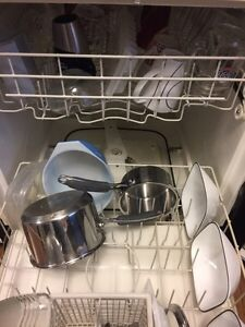 GE dishwasher built in