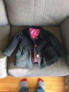 Manteau d'hiver 18-24 mois