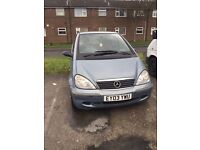Mercedes a class a170 breaking spares salvage parts diesel automatic