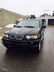 2003 Bmw X5 4.4i safety in a mission