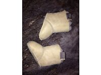 Just sheepskin baby boots - never used