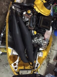 Crankshop twin pipes for zx chassis