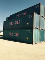 40' Storage and Shipping Containers Available on Sale