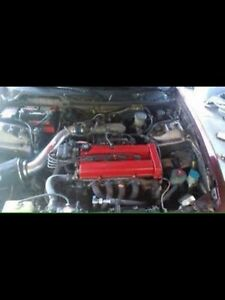 4 door integra with a b20b swap
