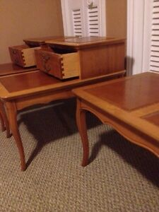 LIKE NEW! Antique! 1 coffee table & 2 end tables