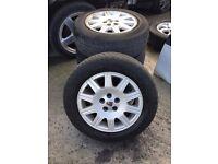 Rover 75 wheels & tyres